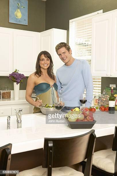 Ryan McPartlin at Home with Wife Danielle