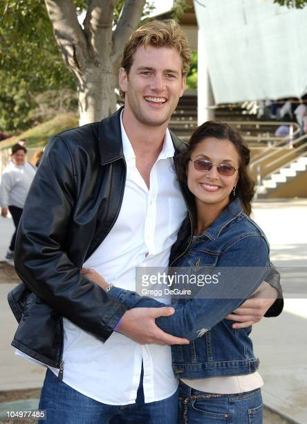 Ryan McPartlin of Passions Danielle Kirlin during 12th Annual Hollywood Charity Horse Show Hosted By William Shatner at Los Angeles Equestrian Center...