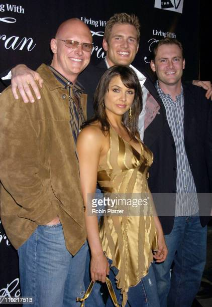 Ryan McPartlin wife Danielle Kirlin and brothers Chris and Scott