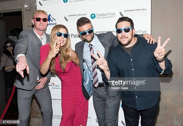 Ryan Meara Mary Alice Stephenson Chris Wingert and Sal Vulcano attend the 3rd annual New York Police and Fire widows' children's benefit fund kick...