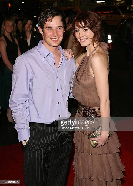 Ryan Merriman and Mary Elizabeth Winstead during 'Final Destination 3' Los Angeles Premiere at Grauman's Chinese Theatre in Hollywood California...