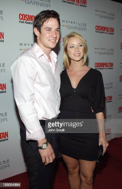 Ryan Merriman and Nicole Merriman during Cosmopolitan Presents Its Fun Fearless Male Awards Arrivals at Day After in Hollywood California United...