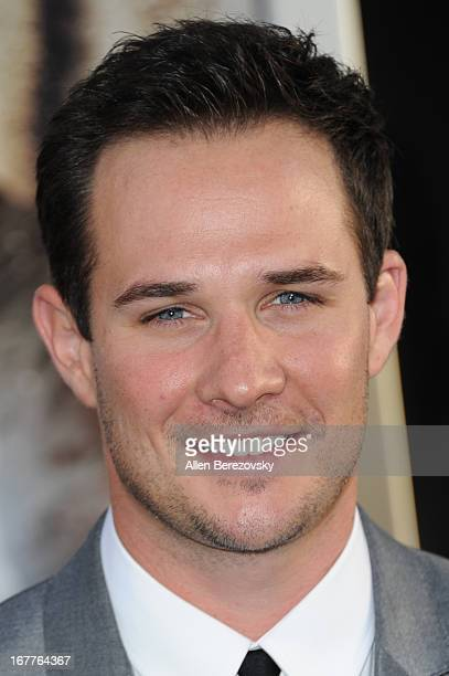 Ryan Merriman arrives at the Los Angeles Premiere of '42' at TCL Chinese Theatre on April 9 2013 in Hollywood California