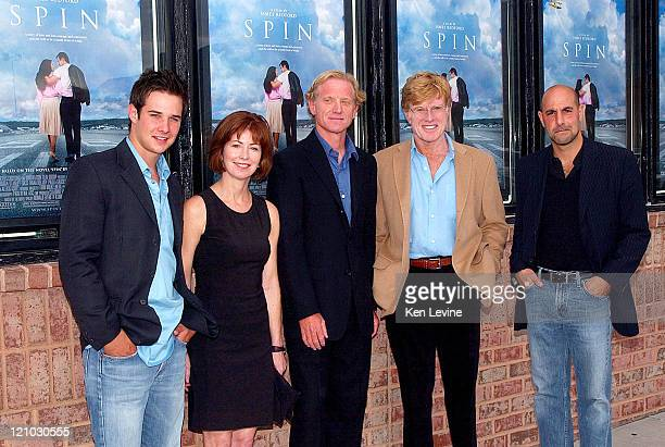 Ryan Merriman Dana Delany James Redford Robert Redford and Stanley Tucci