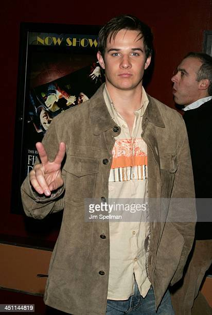 Ryan Merriman during Final Destination 3 New York Screening at City Cinemas Village East in New York City New York United States