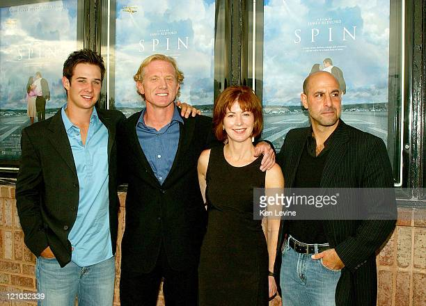 Ryan Merriman James Redford Dana Delany and Stanley Tucci
