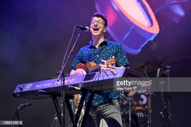 Ryan Met of AJR performs onstage at Not So Silent Night presented by Radiocom at Barclays Center on December 6 2018 in New York City