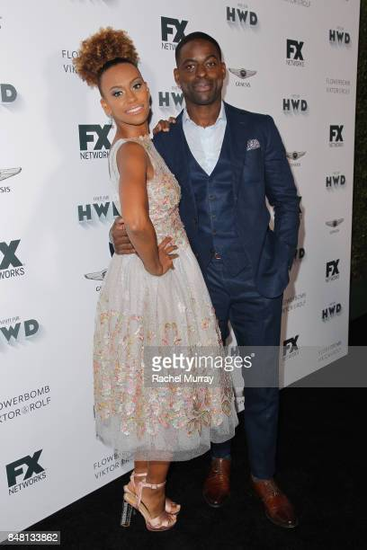 Ryan Michelle Bathe and Sterling K Brown attend FX Networks celebration of their Emmy nominees in partnership with Vanity Fair at Craft on September...