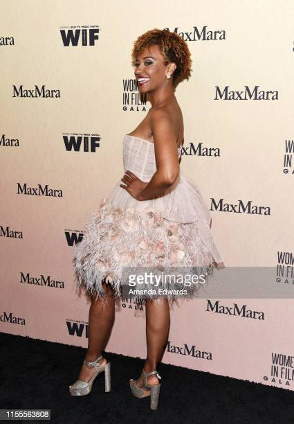 Ryan Michelle Bathe arrives at the Women In Film Annual Gala 2019 Presented By Max Mara at The Beverly Hilton Hotel on June 12, 2019 in Beverly...