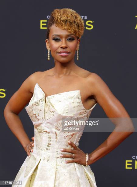 Ryan Michelle Bathe attends the 2019 Creative Arts Emmy Awards on September 15 2019 in Los Angeles California