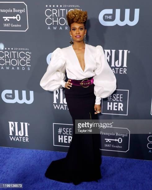 Ryan Michelle Bathe attends the 25th Annual Critics' Choice Awards at Barker Hangar on January 12 2020 in Santa Monica California