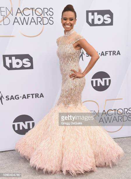 Ryan Michelle Bathe attends the 25th Annual Screen ActorsGuild Awards at The Shrine Auditorium on January 27 2019 in Los Angeles California 480645