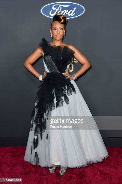 Ryan Michelle Bathe attends the 51st NAACP Image Awards Presented by BET at Pasadena Civic Auditorium on February 22 2020 in Pasadena California