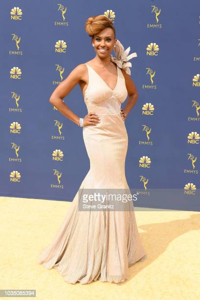 Ryan Michelle Bathe attends the 70th Emmy Awards at Microsoft Theater on September 17 2018 in Los Angeles California