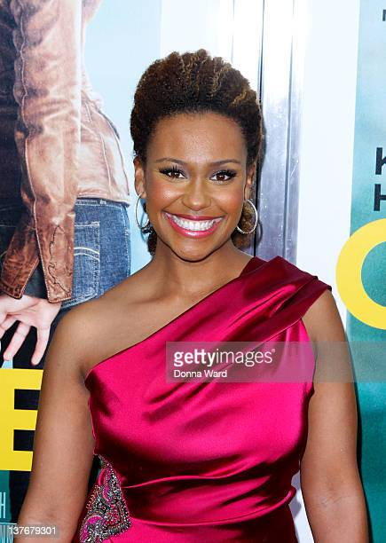Ryan Michelle Bathe attends the One for the Money premiere at the AMC Loews Lincoln Square on January 24 2012 in New York City
