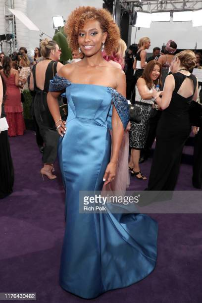 Ryan Michelle Bathe walks the red carpet during the 71st Annual Primetime Emmy Awards on September 22 2019 in Los Angeles California