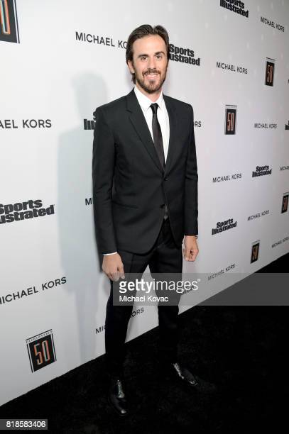 Ryan Miller at Sports Illustrated 2017 Fashionable 50 Celebration at Avenue on July 18 2017 in Los Angeles California