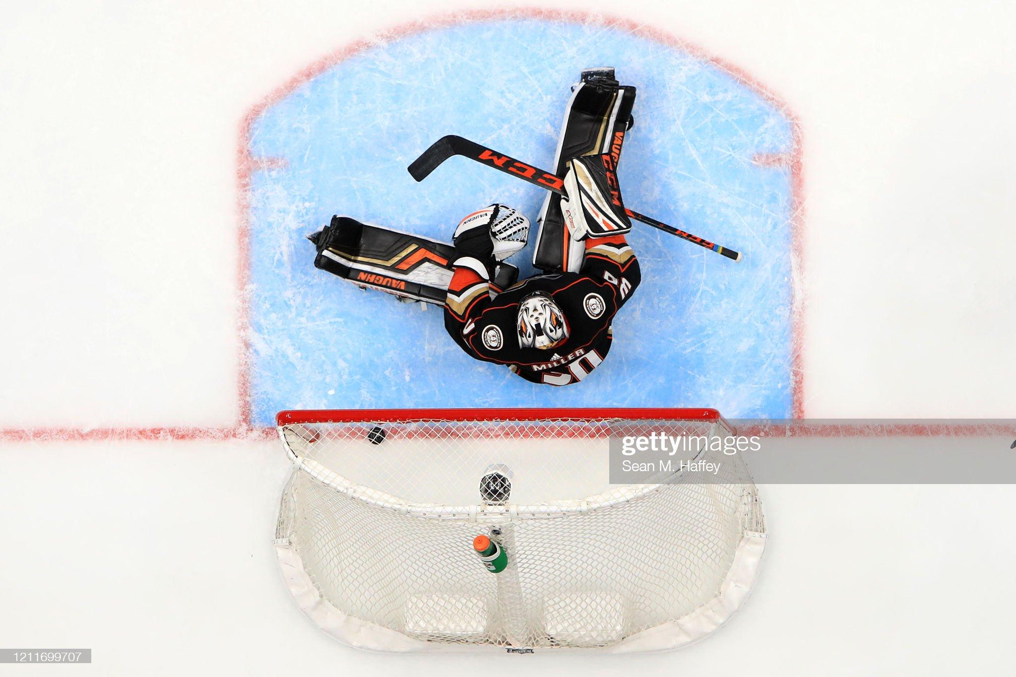 Ottawa Senators v Anaheim Ducks : News Photo