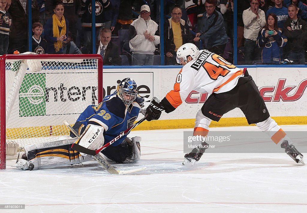 Philadelphia Flyers v St Louis Blues