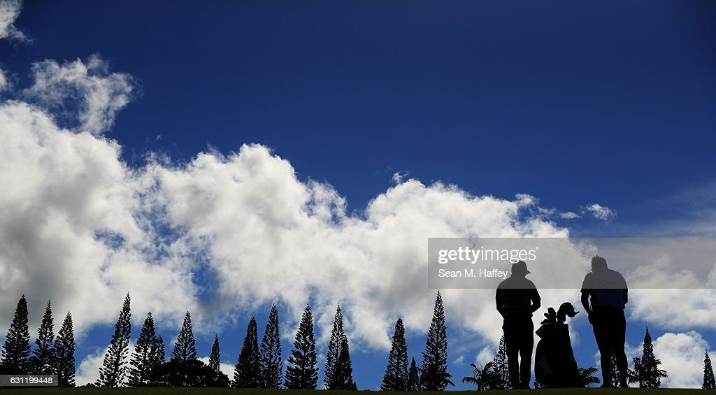Ryan Moore of the United States during the third round of the SBS Tournament of Champions at the Plantation Course at Kapalua Golf Club on January 7, 2017 in Lahaina, Hawaii.