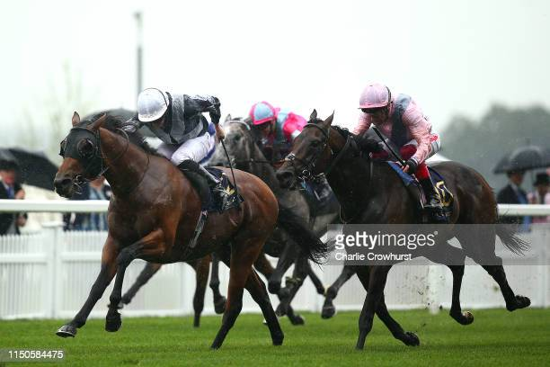 Ryan Moore rides Circus Maximus to win The St James's Palace Stakes during day one of Royal Ascot at Ascot Racecourse on June 18, 2019 in Ascot,...