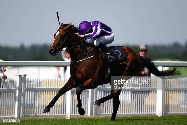 Ryan Moore rides Highland Reel to win The Prince of Wales's Stakes during day 2 of Royal Ascot at Ascot Racecourse on June 21 2017 in Ascot England