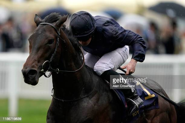 Ryan Moore riding Arizona win The Coventry Stakes on day one of Royal Ascot at Ascot Racecourse on June 18 2019 in Ascot England