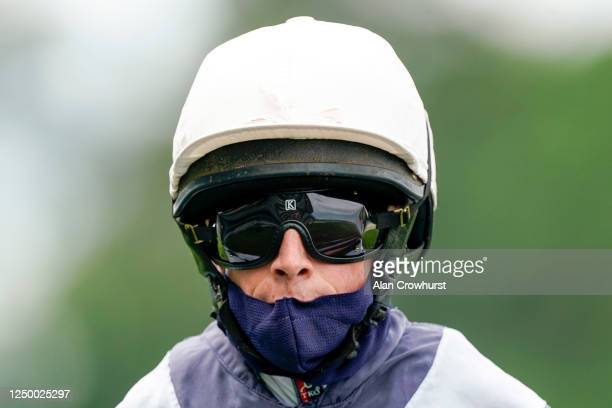 Ryan Moore riding Circus Maximus return after winning The Queen Anne Stakes at Ascot Racecourse on Day 1 of the Royal Meeting on June 16, 2020 in...