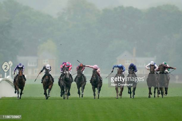 Ryan Moore riding Circus Maximus win The St James's Palace Stakes on day one of Royal Ascot at Ascot Racecourse on June 18, 2019 in Ascot, England.