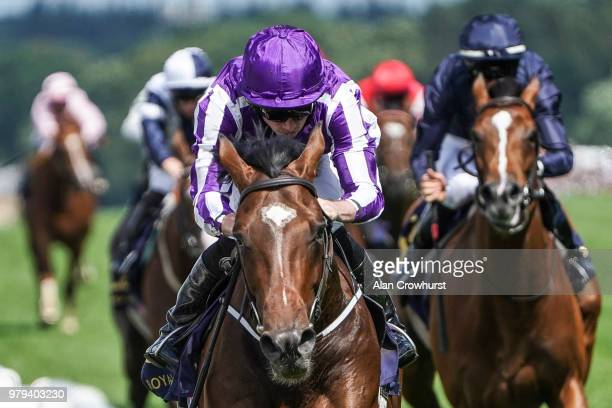 Ryan Moore riding Kew Gardens win The Queen's Vase on day 2 of Royal Ascot at Ascot Racecourse on June 20 2018 in Ascot England