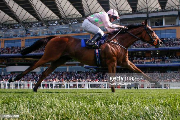 Ryan Moore riding Thomas Hobson win The Ascot Stakes on day 1 of Royal Ascot at Ascot Racecourse on June 20 2017 in Ascot England
