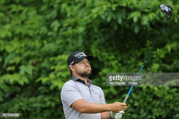 Ryan Moore, USA, in action during the third round of the Travelers Championship at the TPC River Highlands, Cromwell, Connecticut, USA. 21st June...