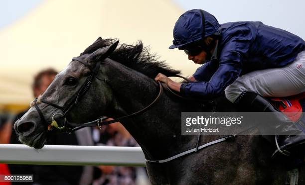 Ryan More ridding Winter wins The Coronation Stakes run on Day Four of Royal Ascot at Ascot Racecourse on June 23 2017 in Ascot England