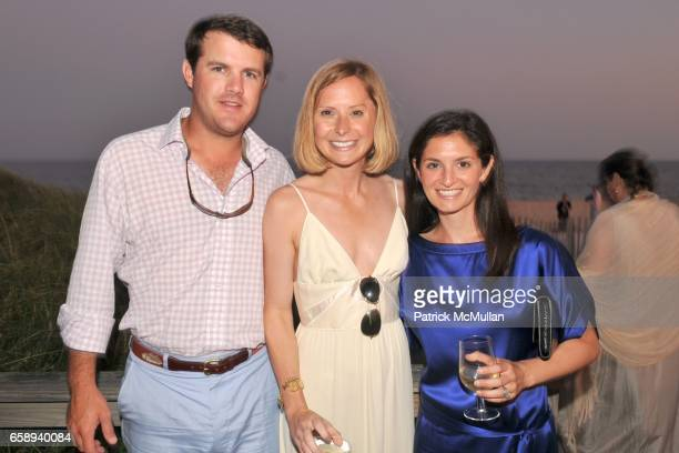 Ryan Morris Meg Morris and Rebecca Sterling attend Hampton Co Celebrates The ARF Beach Ball at Bridgehampton Tennis and Surf Club on August 15 2009...