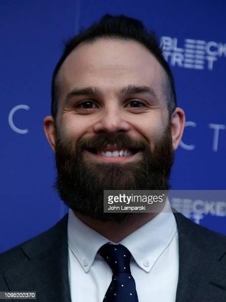 Ryan Morrison attends 'Arctic' New York Screening at Metrograph on January 16 2019 in New York City