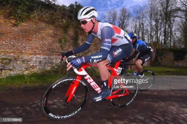 Ryan Mullen of Ireland and Team Trek - Segafredo / Cobblestones / during the 52nd Grand Prix Le Samyn 2020 a 201,9km race from Quaregnon to Dour /...
