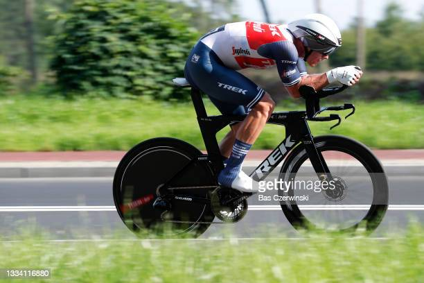 Ryan Mullen of Ireland and Team Trek - Segafredo competes during the 78th Tour de Pologne 2021, Stage 6 a 19km Individual Time Trial stage from...