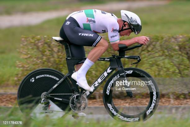 Ryan Mullen of Ireland and Team Trek - Segafredo / during the 78th Paris - Nice 2020, Stage 4 a 15,1km Individual Time Trial from...