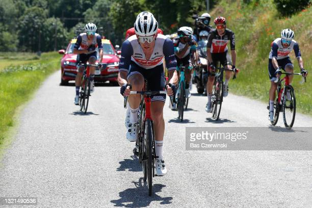 Ryan Mullen of Ireland and Team Trek - Segafredo in the Breakaway during the 73rd Critérium du Dauphiné 2021, Stage 5 a 175,4km stage from...