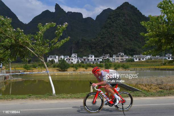 Ryan Mullen of Ireland and Team Trek-Segafredo / Landscape / Mountains / during the 3rd Tour Of Guangxi 2019 - Stage 4 a 161,4km stage from Guangxi...