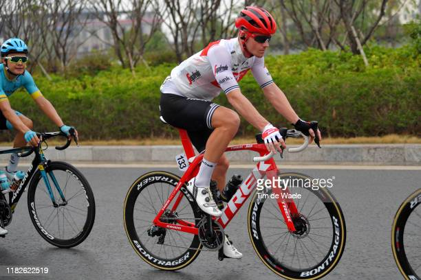 Ryan Mullen of Ireland and Team Trek-Segafredo / Rodrigo Contreras of Colombia and Astana Pro Team / during the 3rd Tour of Guangxi 2019, Stage 6 a...