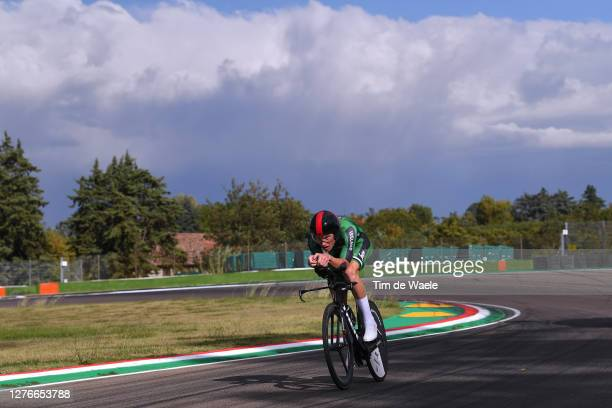 Ryan Mullen of Ireland / during the 93rd UCI Road World Championships 2020, Men Elite Individual Time Trial a 31,7km race from Imola to Imola -...