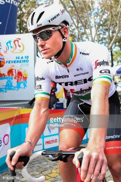 Ryan Mullen of TrekSegafredo before the 1st stage of the cycling Tour of Algarve between Albufeira and Lagos on February 14 2018