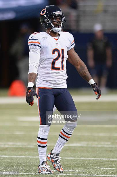 Ryan Mundy of the Chicago Bears during a game against the St Louis Rams at the Edward Jones Dome on November 15 2015 in St Louis Missouri