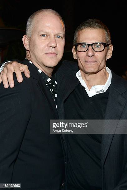 Ryan Murphy and Mike Lombardo attend 'An Evening Under The Stars' Benefiting The LA Gay Lesbian Center on October 19 2013 in Los Angeles California