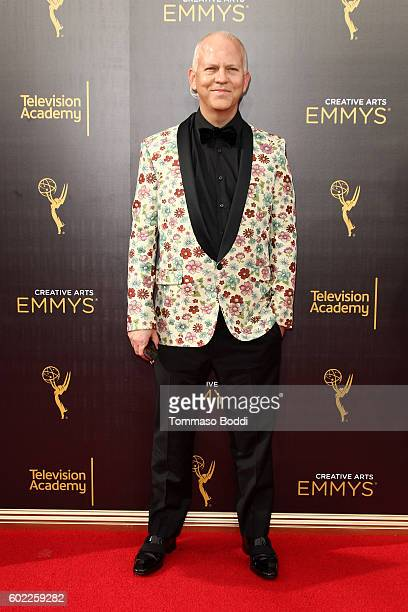 Ryan Murphy attends the 2016 Creative Arts Emmy Awards held at Microsoft Theater on September 10 2016 in Los Angeles California