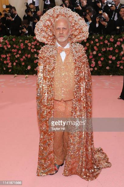 """Ryan Murphy attends the 2019 Met Gala celebrating """"Camp: Notes on Fashion"""" at The Metropolitan Museum of Art on May 6, 2019 in New York City."""