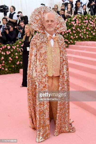 Ryan Murphy attends The 2019 Met Gala Celebrating Camp Notes on Fashion at Metropolitan Museum of Art on May 06 2019 in New York City
