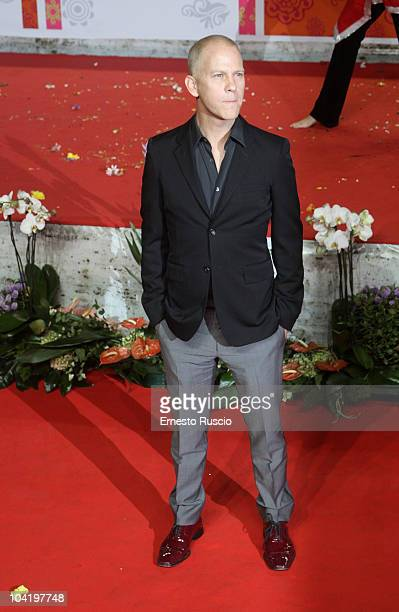 Ryan Murphy attends the Eat Pray Love premiere at The Space Moderno on September 16 2010 in Rome Italy
