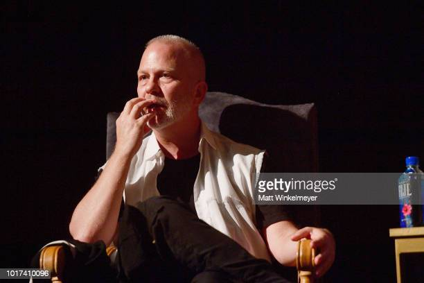 """Ryan Murphy attends the panel and photo call for FX's """"The Assassination of Gianni Versace: American Crime Story"""" at Los Angeles County Museum of Art..."""
